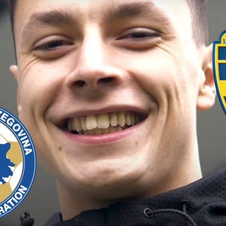 Jag vill att han ska spela för Bosnien men Anel vill spela för Sverige